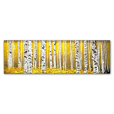 Trademark Fine Art ''PanorAspens Yellow Floor'' by Roderick Stevens 10
