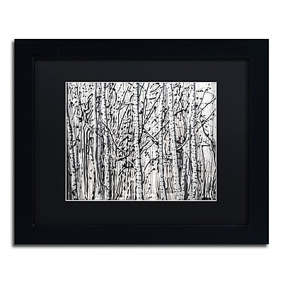 Trademark Fine Art ''Winter Aspens'' by Roderick Stevens 11