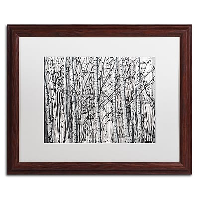Trademark Fine Art ''Winter Aspens'' by Roderick Stevens 16