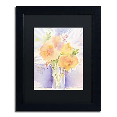 Trademark Fine Art ''Purple Vase Reflection'' by Sheila Golden 11
