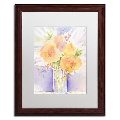 Trademark Fine Art ''Purple Vase Reflection'' by Sheila Golden 16