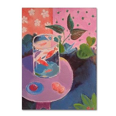 Trademark Fine Art ''Goldfish'' by Sheila Golden 18