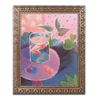 Trademark Fine Art ''Goldfish'' by Sheila Golden 16