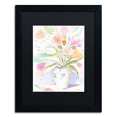 Trademark Fine Art ''The Vase of Tulips'' by Sheila Golden 16