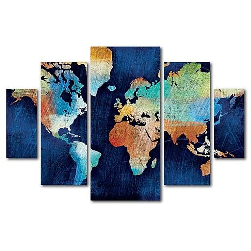 Trademark Fine Art ''Seasons Change'' by Michael Mullan 3.3' x 4.8' Multi Panel Art Set (WAP0123-P5-SET)