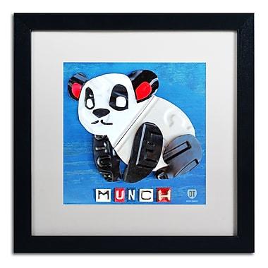 Trademark Fine Art ''Munch the Panda'' by Design Turnpike 16