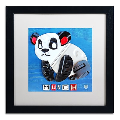 Trademark Fine Art ''Munch the Panda'' by Design Turnpike 16