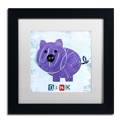 Trademark Fine Art ''Oink the Pig'' by Design Turnpike 11