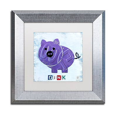 Trademark Fine Art ''Oink the Pig'' by Design Turnpike 11