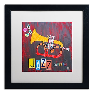 Trademark Fine Art ''Jazz Series Trumpet'' by Design Turnpike 16