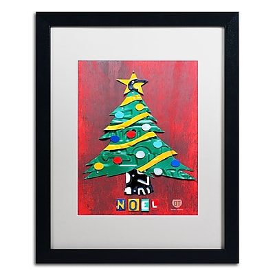 Trademark Fine Art ''Noel Christmas Tree'' by Design Turnpike 16