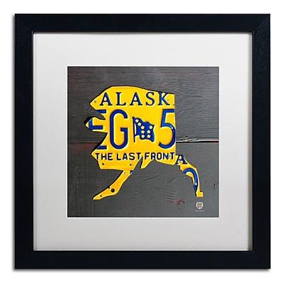 Trademark Fine Art ''Alaska'' by Design Turnpike 16