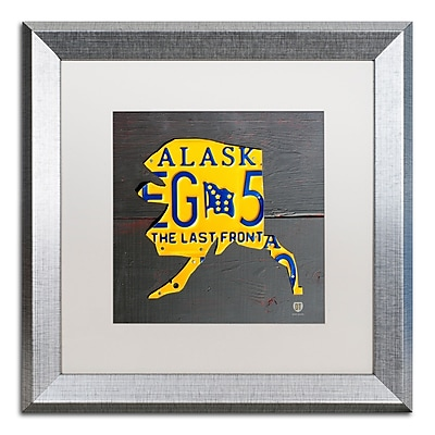 Trademark Fine Art ''Alaska'' by Design Turnpike 16