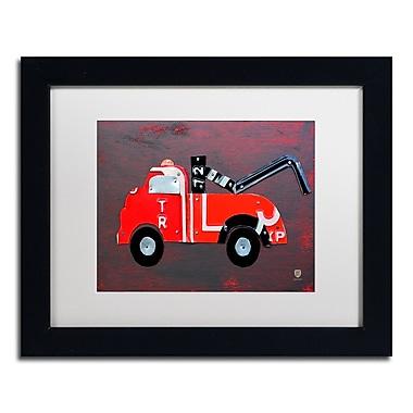 Trademark Fine Art ''Tow Truck'' by Design Turnpike 11