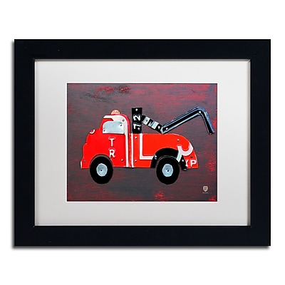 Trademark Fine Art ''Tow Truck'' by Design Turnpike 11