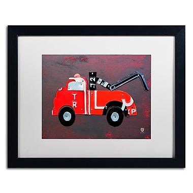 Trademark Fine Art ''Tow Truck'' by Design Turnpike 16
