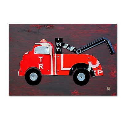 Trademark Fine Art ''Tow Truck'' by Design Turnpike 16