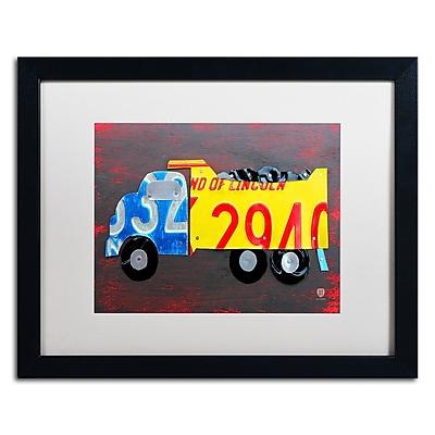 Trademark Fine Art ''Dump Truck'' by Design Turnpike 16