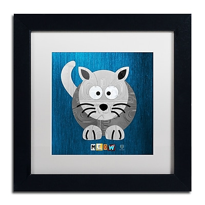 Trademark Fine Art ''Meow The Cat'' by Design Turnpike 11