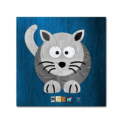 Trademark Fine Art ''Meow The Cat'' by Design Turnpike 24