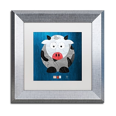 Trademark Fine Art ''Moo The Cow'' by Design Turnpike 11