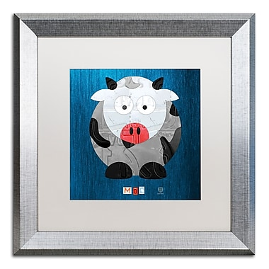 Trademark Fine Art ''Moo The Cow'' by Design Turnpike 16