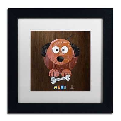 Trademark Fine Art ''Woof The Dog'' by Design Turnpike 11