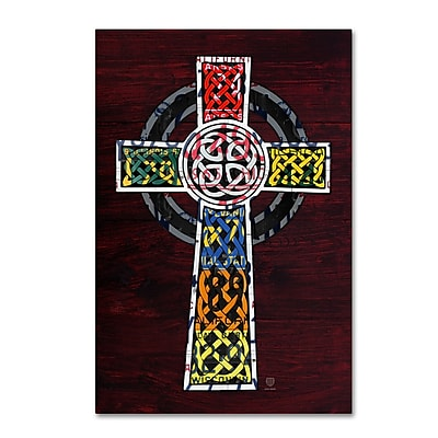 Trademark Fine Art ''Celtic Cross'' by Design Turnpike 22