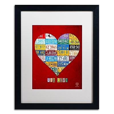 Trademark Fine Art ''Heart'' by Design Turnpike 16