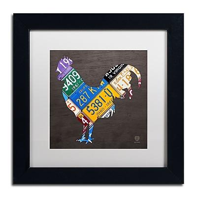 Trademark Fine Art ''Rooster'' by Design Turnpike 11