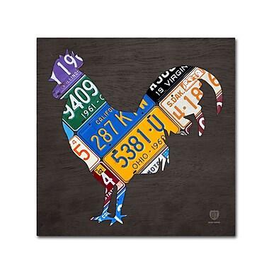 Trademark Fine Art ''Rooster'' by Design Turnpike 35