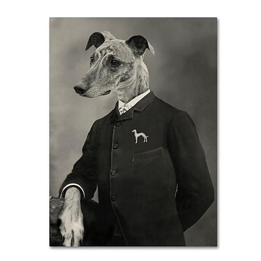 "Trademark Fine Art ''Dog Series #6'' by J Hovenstine Studios 18"" x 24"" Canvas Art (ALI1337-C1824GG)"