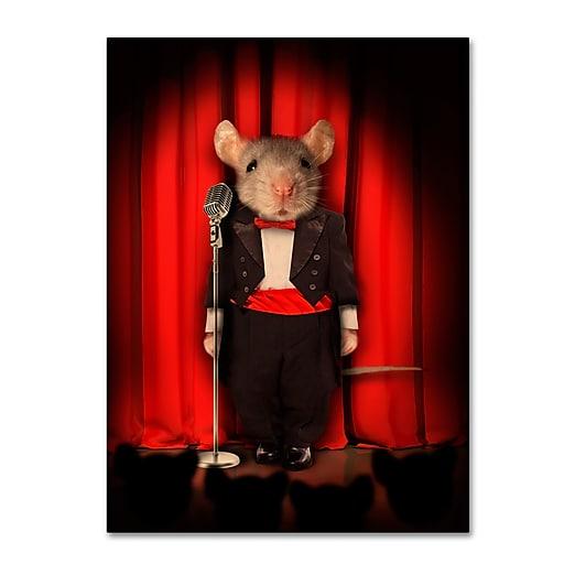 "Trademark Fine Art ''Mice Series #1.5'' by J Hovenstine Studios 35"" x 47"" Canvas Art (ALI1339-C3547GG)"