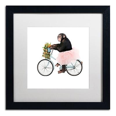 Trademark Fine Art ''Monkeys Riding Bikes #1'' by J Hovenstine Studios 16