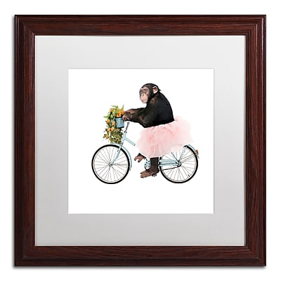Trademark Fine Art ''Monkeys Riding Bikes #1'' by J Hovenstine Studios 16