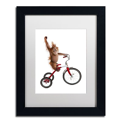 Trademark Fine Art ''Monkeys Riding Bikes #2'' by J Hovenstine Studios 11