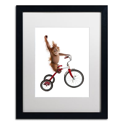 Trademark Fine Art ''Monkeys Riding Bikes #2'' by J Hovenstine Studios 16