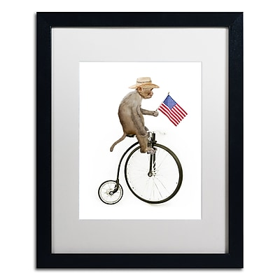 Trademark Fine Art ''Monkeys Riding Bikes #3'' by J Hovenstine Studios 16
