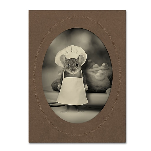"Trademark Fine Art ''Mice Series #6'' by J Hovenstine Studios 35"" x 47"" Canvas Art (ALI1356-C3547GG)"