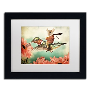 Trademark Fine Art ''Catching A Ride Hummingbird'' by J Hovenstine Studios 11