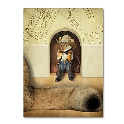 Trademark Fine Art ''New Mouse In Town'' by J Hovenstine Studios 35