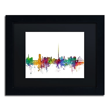 Trademark Fine Art ''Dublin Ireland Skyline'' by Michael Tompsett 11