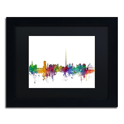 Trademark Fine Art ''Dublin Ireland Skyline'' by Michael Tompsett 11