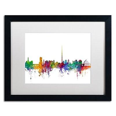 Trademark Fine Art ''Dublin Ireland Skyline'' by Michael Tompsett 16