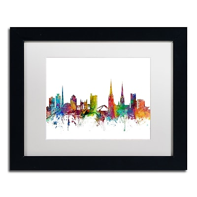 Trademark Fine Art ''Coventry England Skyline'' by Michael Tompsett 11