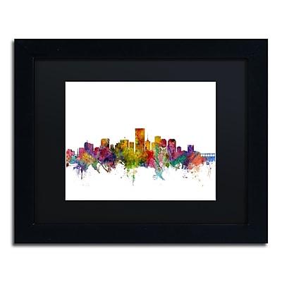 Trademark Fine Art ''Richmond Virginia Skyline'' by Michael Tompsett 11