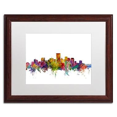 Trademark Fine Art ''Richmond Virginia Skyline'' by Michael Tompsett 16