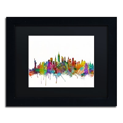 Trademark Fine Art ''New York City Skyline'' by Michael Tompsett 11