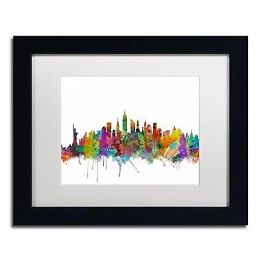 Trademark Fine Art ''New York City Skyline'' by Michael Tompsett 11