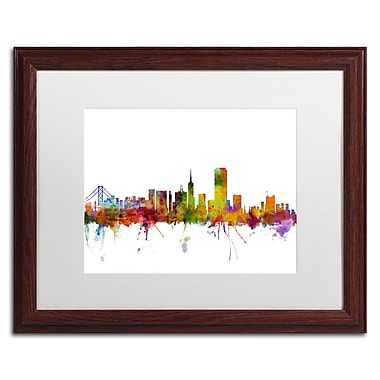 Trademark Fine Art ''San Francisco City Skyline'' by Michael Tompsett 16